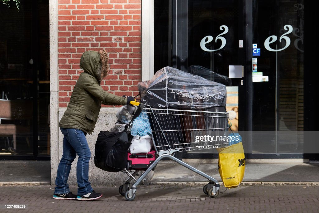The Coronavirus Pandemic Continues In The Netherlands : News Photo