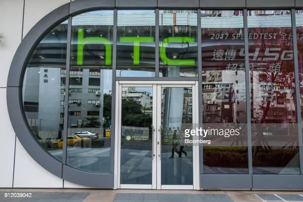 An HTC Corp store stands in Taipei Taiwan on Wednesday Jan 24 2018 Google officially closed its$11 billion dealwith HTC adding more than 2000...