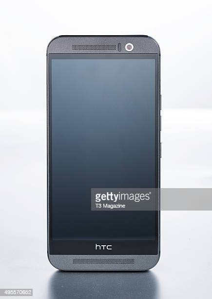 An HTC One M9 smartphone taken on April 13 2015