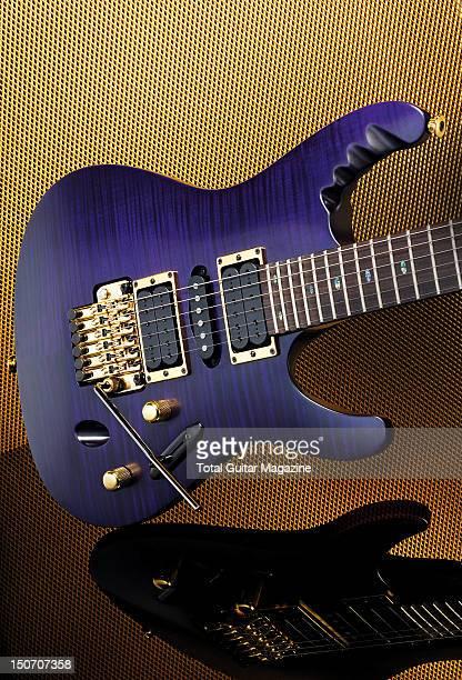 An Ibanez EGEN18 Herman Li electric guitar taken on November 3 2008