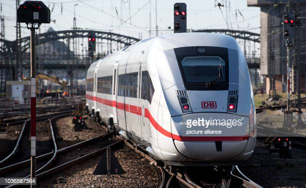 An ICE 4 train of Deutsche Bahn leaving the central station in Munich, Germany, 31 October 2016. More than six weeks after the presentation of the...