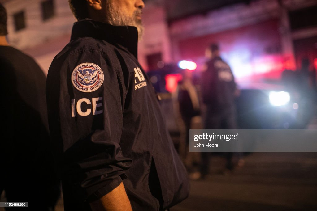 ICE Agents Take Part In Raids On Human Traffickers In Guatemala : News Photo