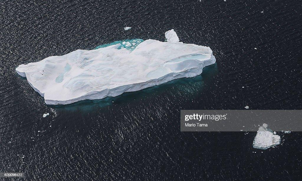 NASA's Operation IceBridge Maps Changes To Antartica's Ice Mass : News Photo