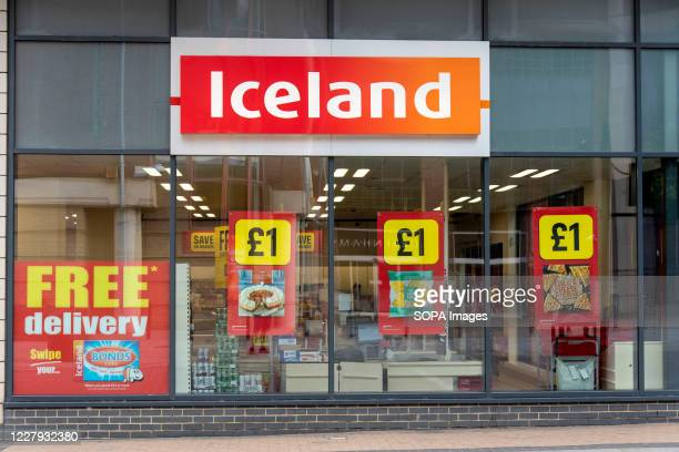 An Iceland Foods store in Bromley, London.