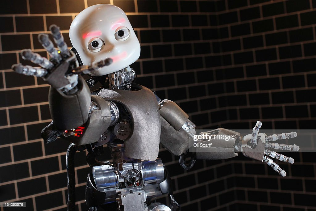 """The Science Museum Unveils Their Latest Exhibition """"Robotville"""" Displaying The Most Cutting Edge In European Design : News Photo"""