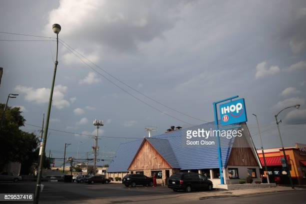 An IHOP restaurant serves customers on August 10 2017 in Chicago Illinois DineEquity the parent company of Applebee's and IHOP plans to close up to...