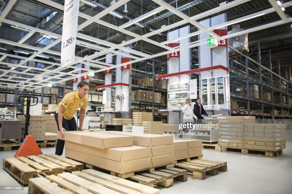 Ikea Executives in Malmo Store : News Photo