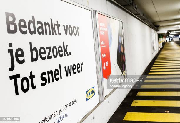 An IKEA logo is seen at IKEA store in Amsterdam Netherlands on December 18 2017 The European Commission is to open an indepth investigation into...