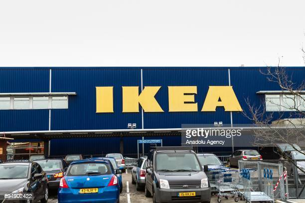 An IKEA logo is seen on an IKEA store in Amsterdam Netherlands on December 18 2017 The European Commission is to open an indepth investigation into...