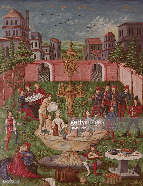 An illustrated manuscript which is called both the Fountain of Youth or Elixir of Life Alchemy and the search for the elusive elixir and lodestone...