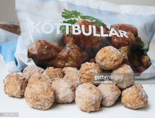 An illustration dated 25 February 2013 shows frozen Swedish meatballs from IKEAhome products store in BerlinGermany Czech officials have discovered...