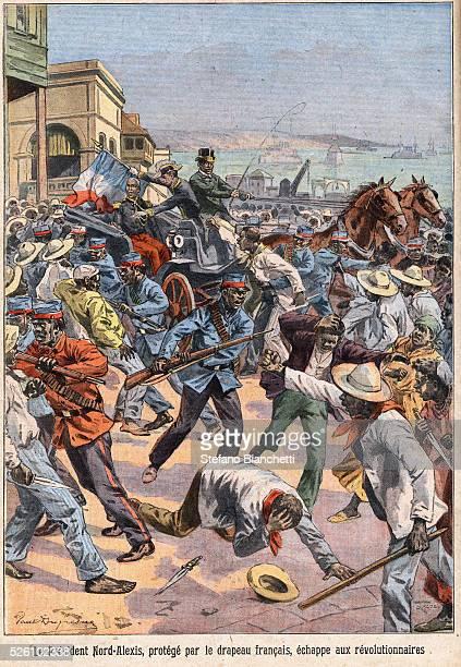 An illustration from Le Petit Parisien, 1908.