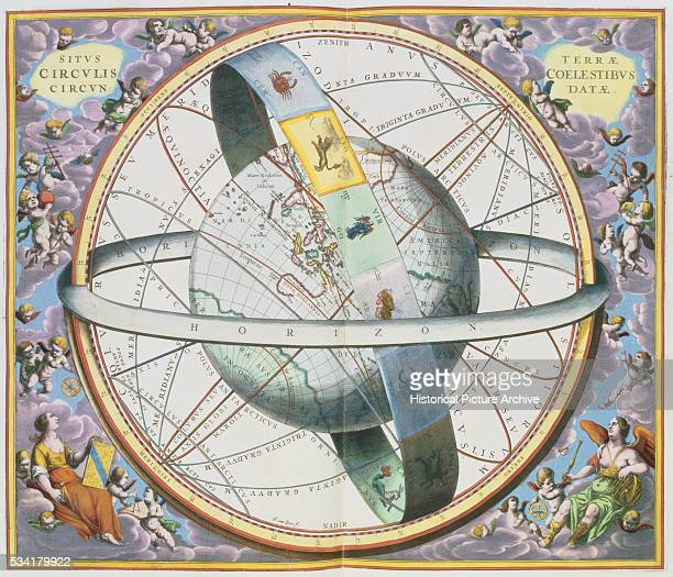 An illustration from the celestial atlas Harmonia Macrocosmica by Andreas Cellarius 16601661