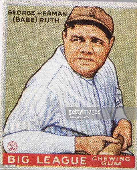an analysis of the baseball by george herman ruth Early life george herman ruth, jr was born on february 6, 1895 in baltimore, maryland his parents were kate schamberger-ruth and george herman ruth, sr, who tended.