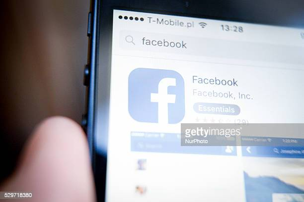 An Illustration of Facebook logo on May 9 2016 Facebook won a court case in China against Zhongshan Pearl River Drink Factory for using the name face...