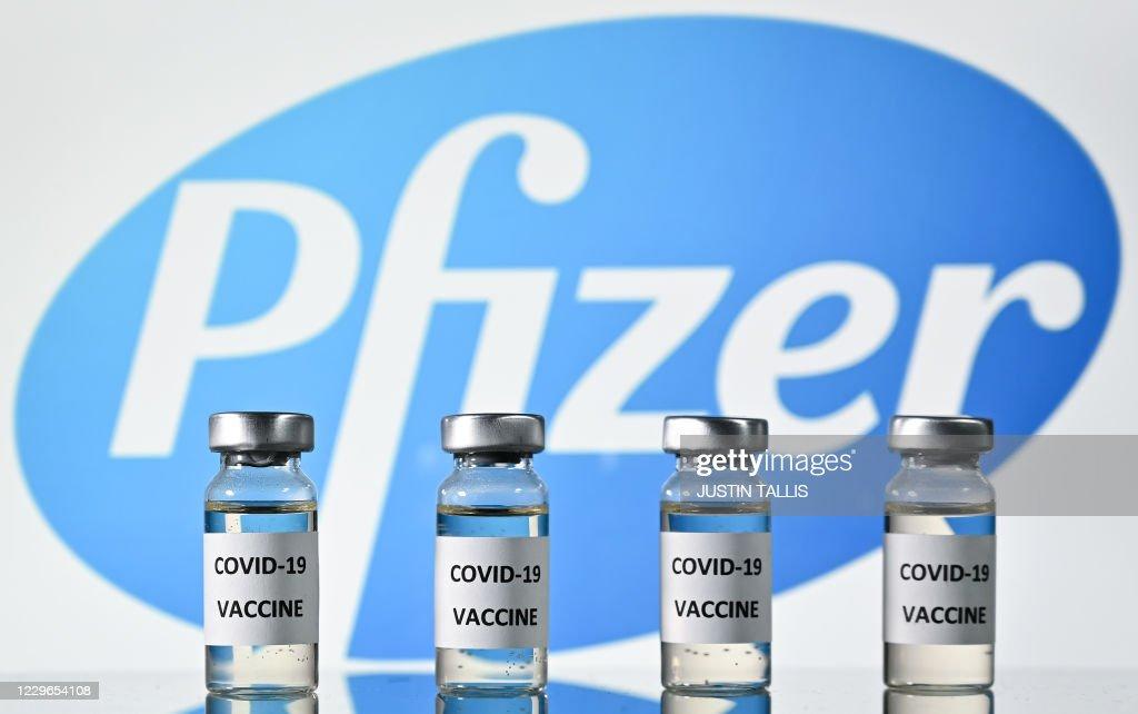 HEALTH-VIRUS-US-PFIZER : News Photo
