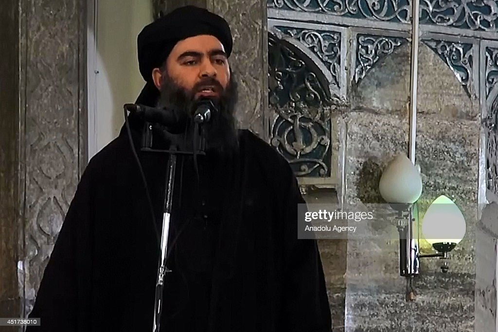 Alleged ISIL leader appears in video footage : News Photo