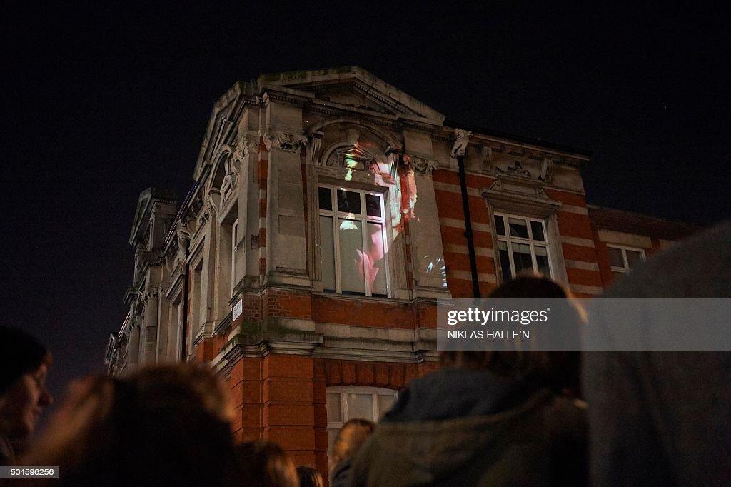 BRITAIN-MUSIC-BOWIE : Fotografía de noticias