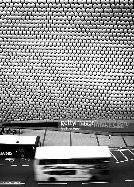 An image of the Selfridges building, at the Bull Ring Shopping Centre, Birmingham, UK.