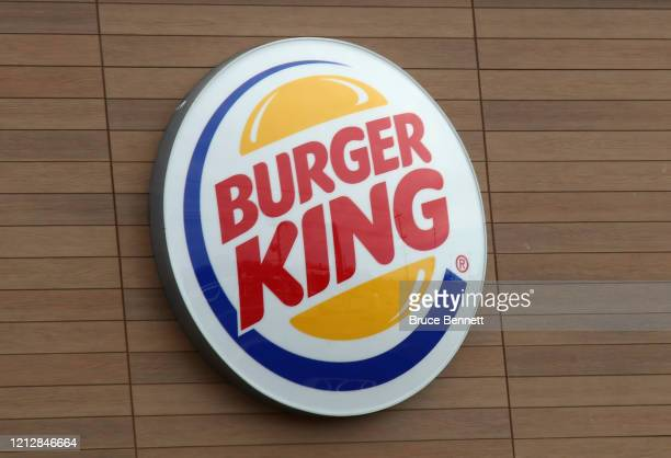 An image of the sign for Burger King as photographed on March 16, 2020 in Wantagh, New York.