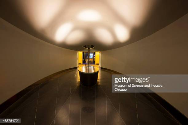 An image of the Whispering Gallery which was originally part of the Motorola radio exhibit from 1946 at the Museum of Science and Industry Chicago...