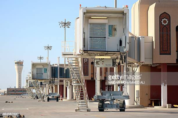An image taken on February 26 shows a terminal at the 'Basra International Airport' in southern Iraqi AFP PHOTO / HAIDAR MOHAMMED ALI
