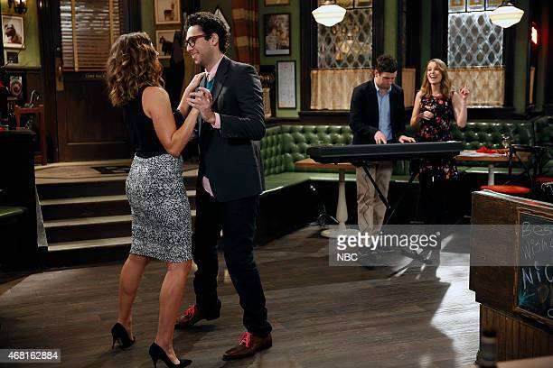 UNDATEABLE An Imaginary Torch Walks Into A Bar Episode 204 Pictured Bianca Kajlich as Leslie Rick Glassman as Burski Brent Morin as Justin Bridgit...