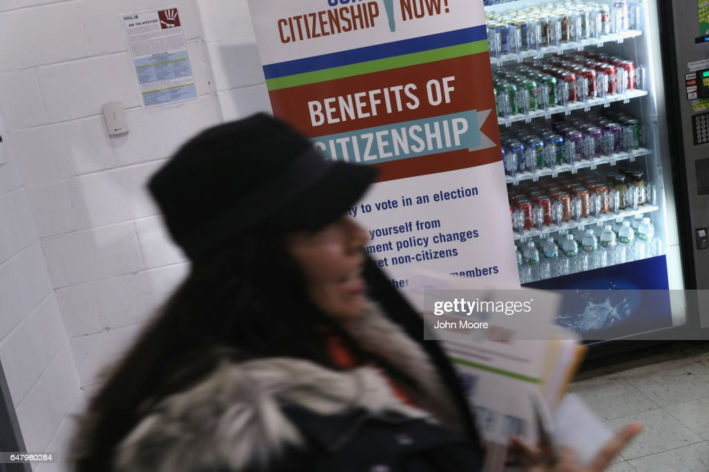 Immigrants Attend Citizenship Application Assistance Event In The Bronx : News Photo