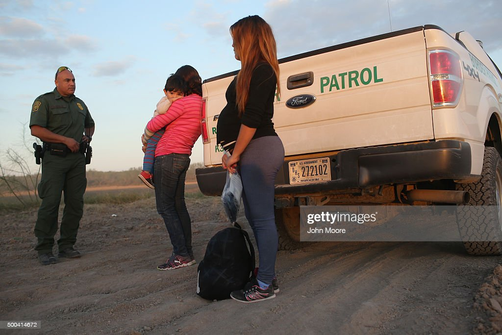 Border Security Remains Key Issue In Presidential Campaigns : News Photo