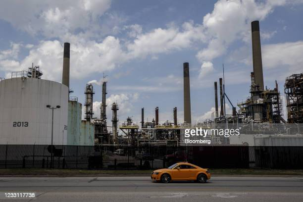 An Imperial Oil Ltd. Refinery near the Enbridge Line 5 pipeline in Sarnia, Ontario, Canada, on Tuesday, May 25, 2021. Enbridge Inc. Said it will...