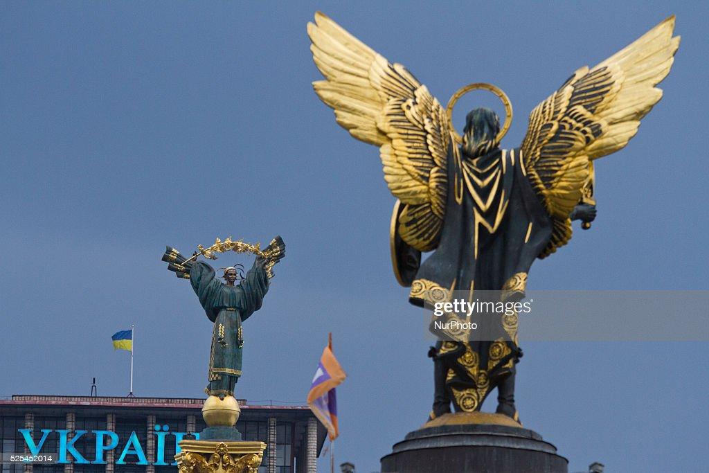 Ukrainian hryvnia rate starts to fall : News Photo