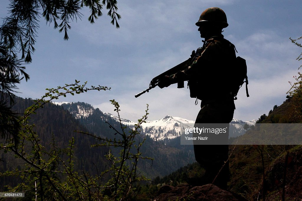 India Blames Pakistan For Ceasefire Violation In Kashmir : News Photo