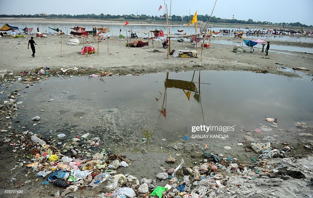 INDIA-ENVIRONMENT-POLLUTION : News Photo