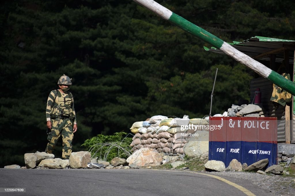 India-and China Face-off Many Soldiers Feared Dead : News Photo