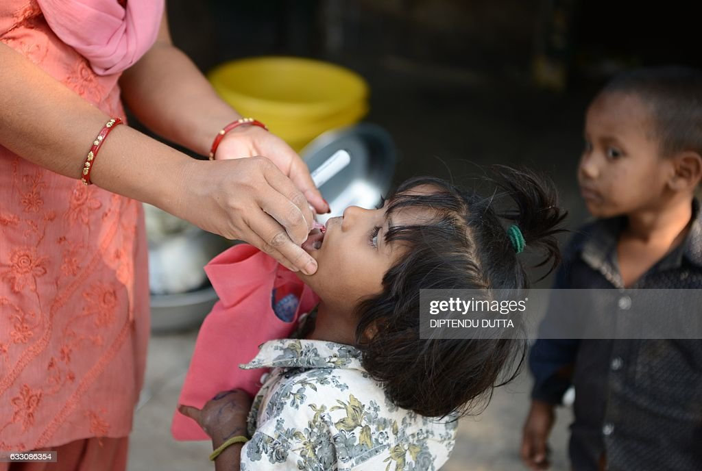 INDIA-HEALTH-POLIO : News Photo