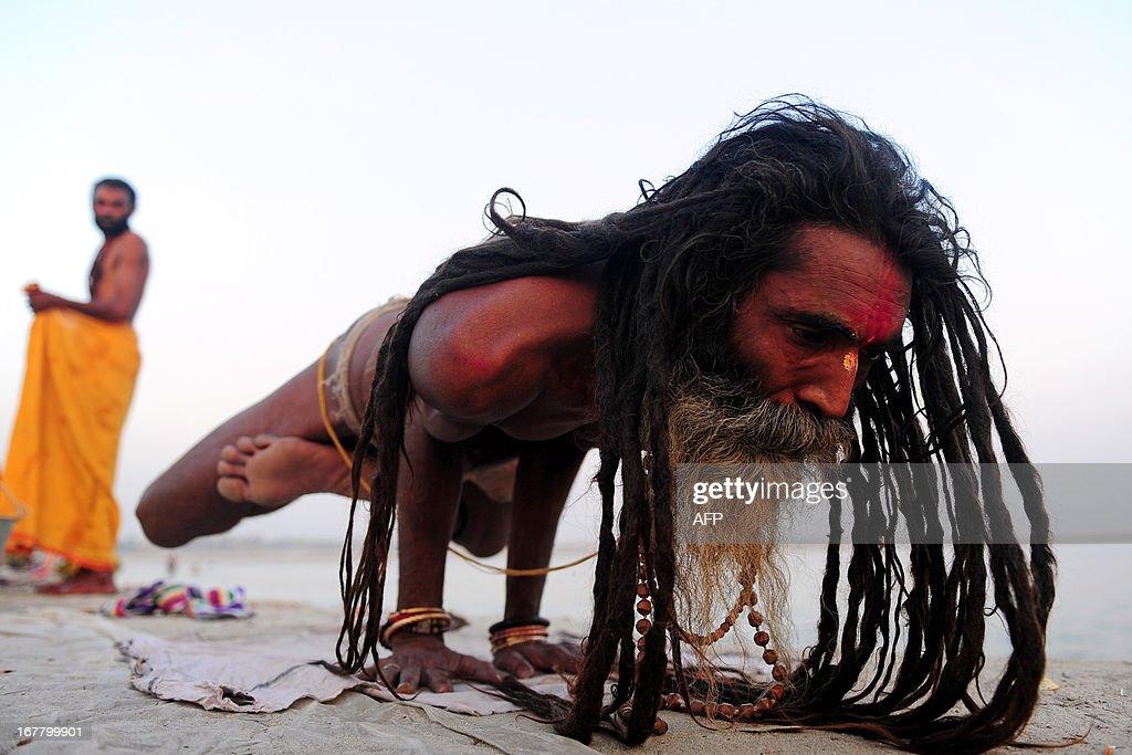 INDIA-RELIGION-YOGA : News Photo