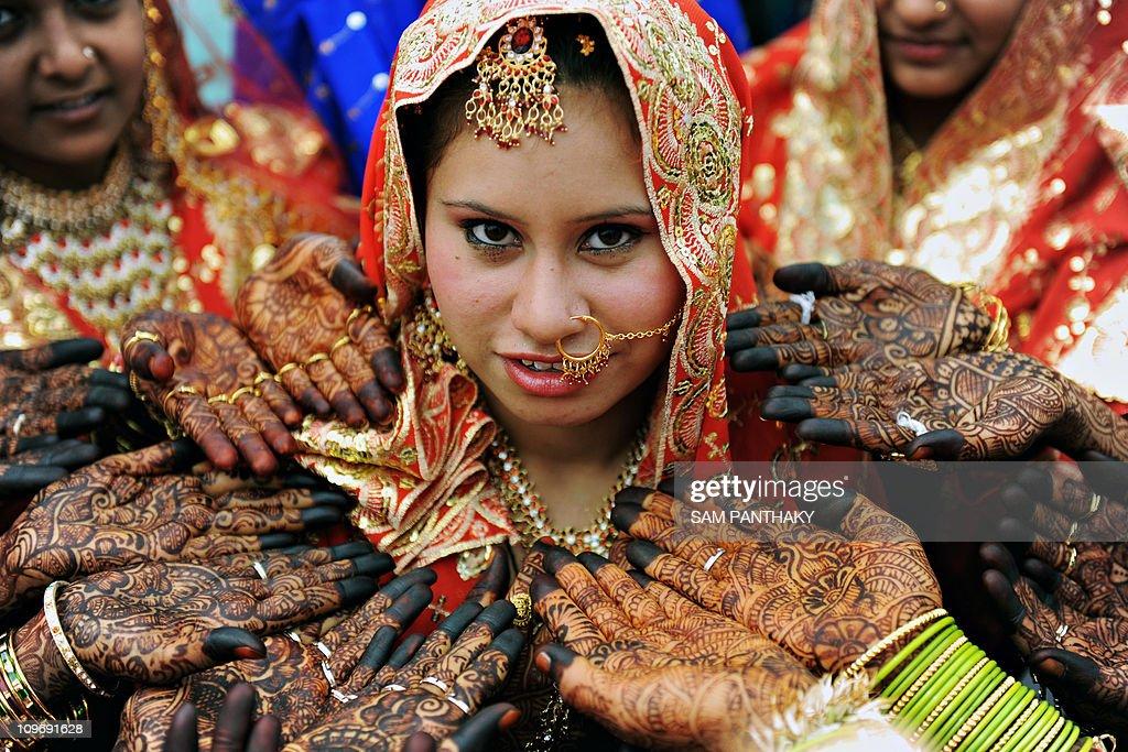 Indian muslim brides