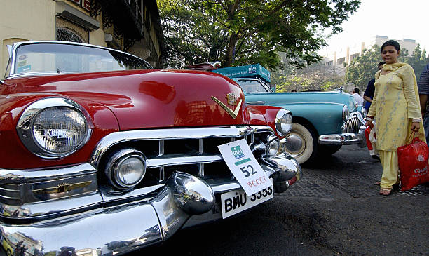 Bombay Vintage Classic Car Rally Photos And Images Getty Images