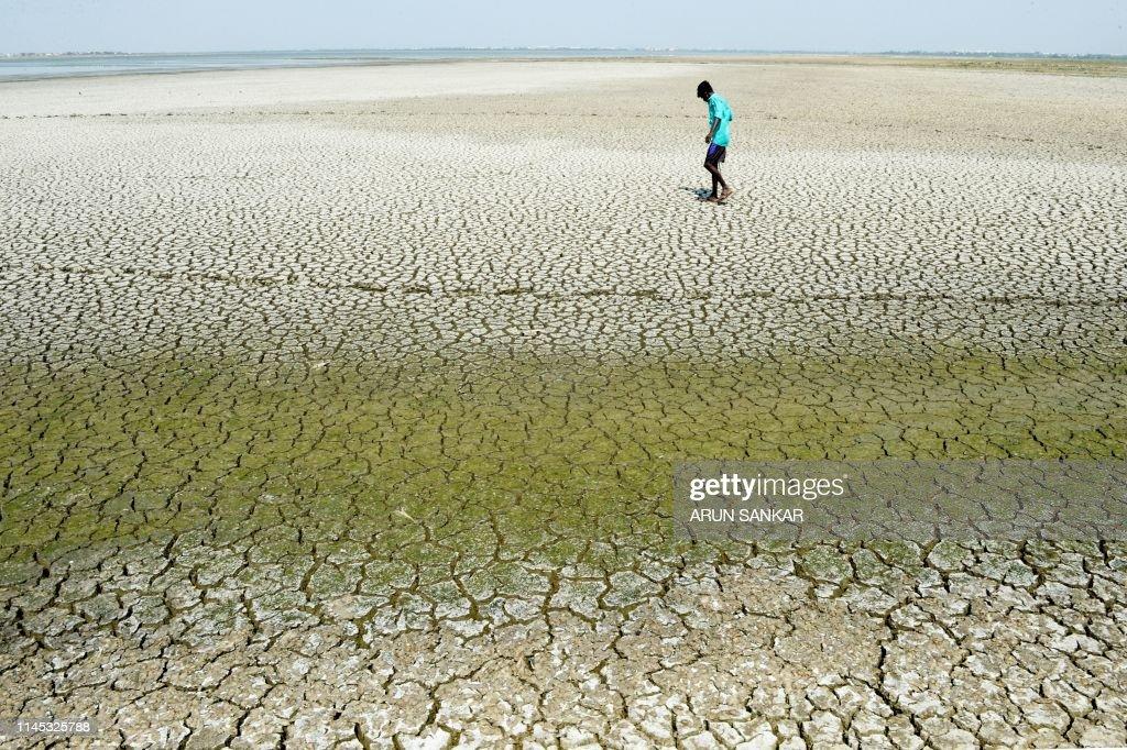 INDIA-WEATHER-WATER : Foto di attualità