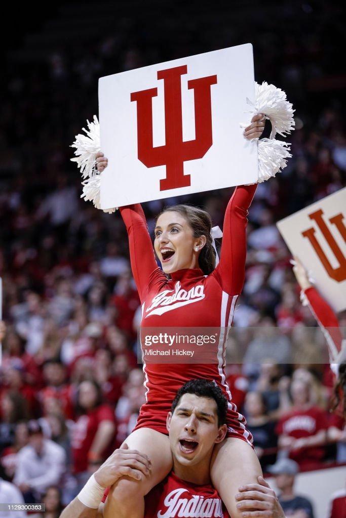 Wisconsin v Indiana : News Photo