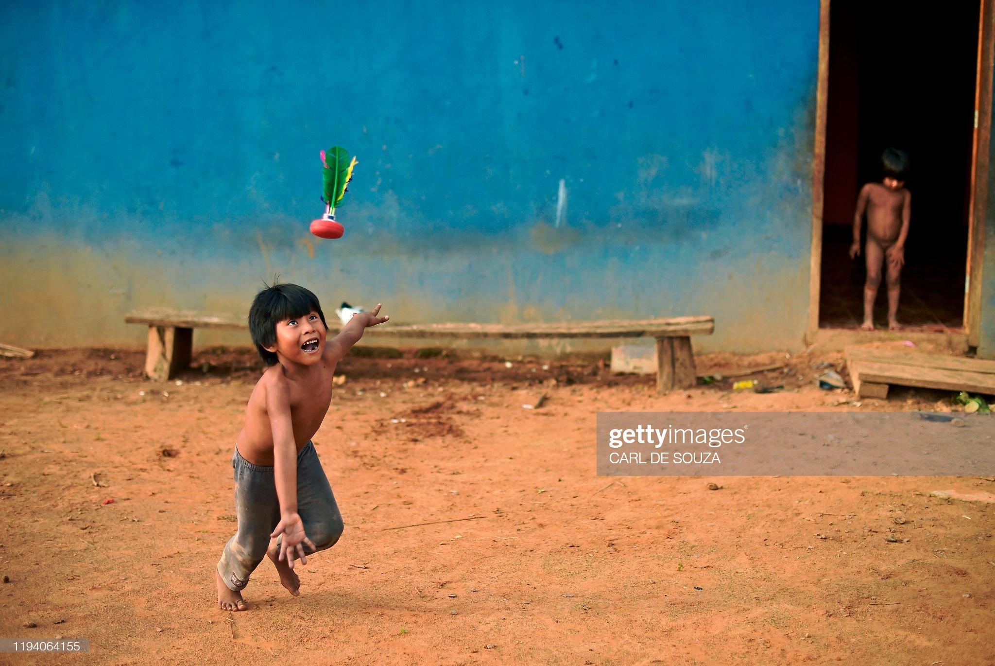BRAZIL-POLITICS-ENVIRONMENT-AMAZON-INDIGENOUS : Foto di attualità