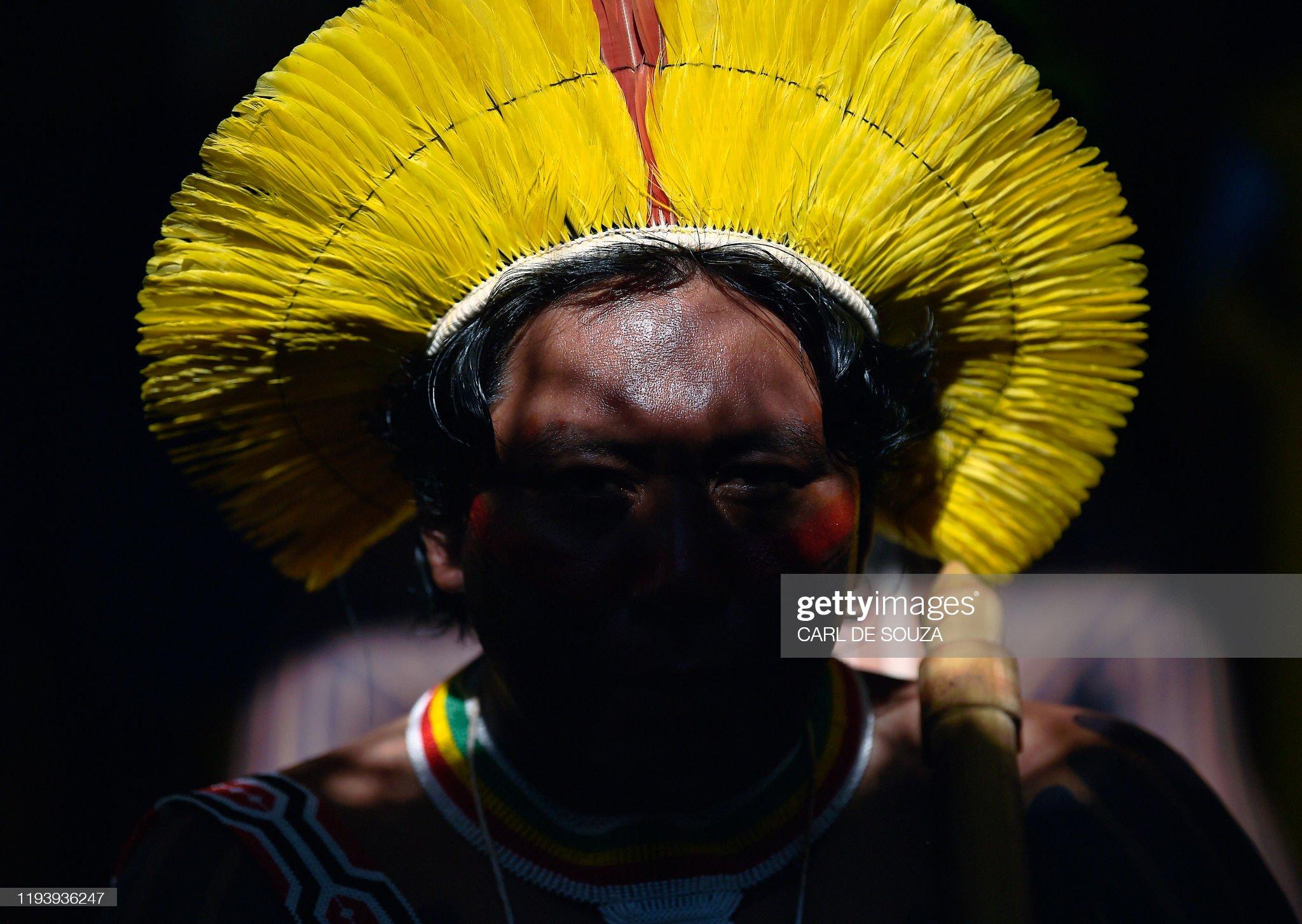 BRAZIL-POLITICS-INDIGENOUS-MINING : Foto di attualità
