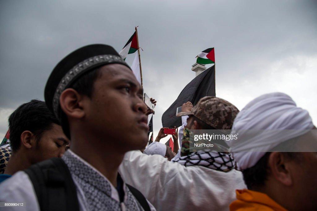 Demonstration pro-Palestine in Jakarta