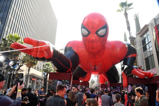 "CA: Premiere Of Sony Pictures' ""Spider-Man Far From Home""  - Red Carpet"