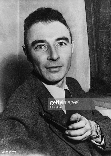 An informal portrait of J Robert Oppenheimer the nuclear physicist who served as director of the Los Alamos laboratory for the atom bomb project...