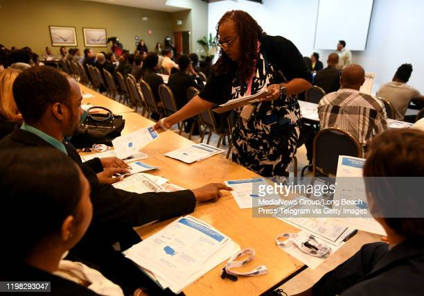 An information session underway for a 2020 Census recruiting event in Compton on Wednesday January 8 2020 Compton CareerLink the Cityu2019s...