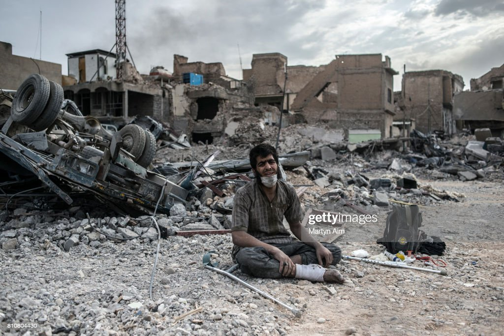 Iraqi Forces Battle IS Militants In Old City Of Mosul : Photo d'actualité