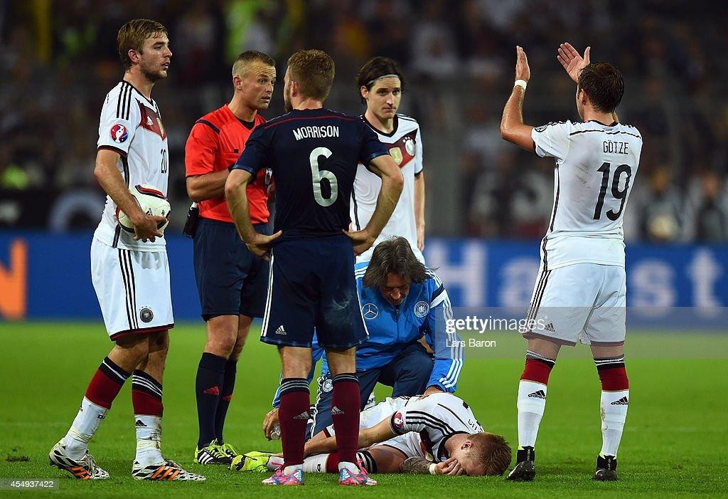Germany v Scotland - EURO 2016 Qualifier : News Photo