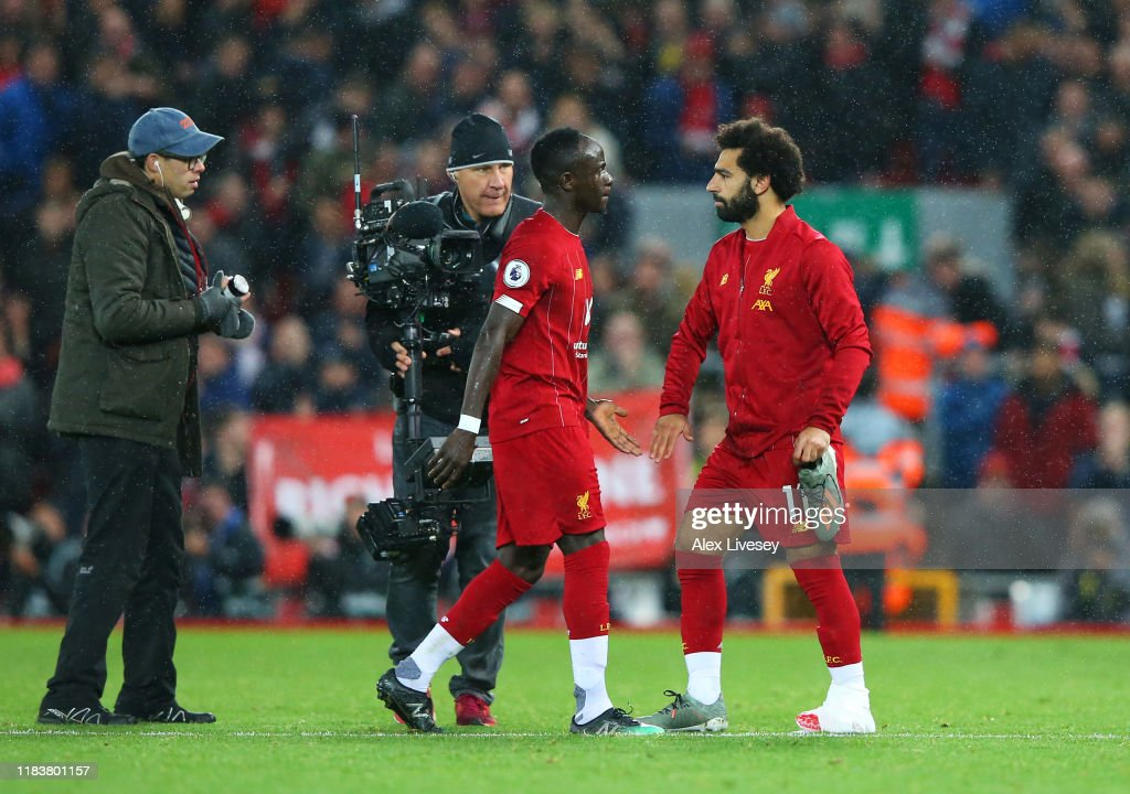 Liverpool FC v Tottenham Hotspur - Premier League : News Photo