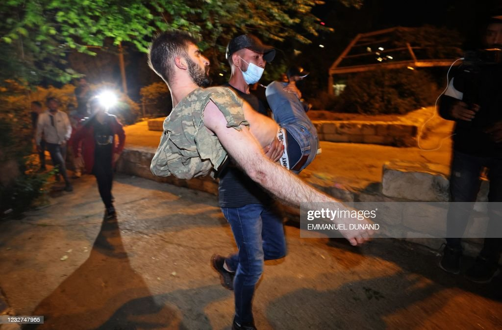 ISRAEL-PALESTINIAN-CONFLICT-JERUSALEM : Nieuwsfoto's